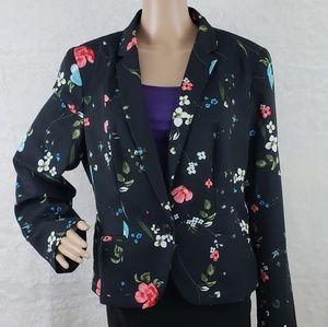 Worthington Floral Blazer Size XL - NWT - 6.21